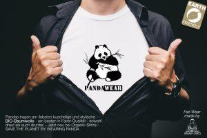 PandaWear - Bio Shirt Mann unter dem Hemd