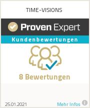 Infografik - Bewertungen bei ProvenExpert