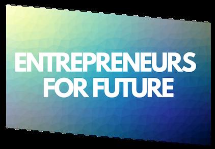 Logo Entrepreneurs for Future