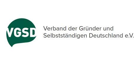 Logo Verband der Grümder und Selbständigen Deutschland e.V. VGSD